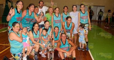 Deportivo Rolón es campeón femenil de la LMBPR