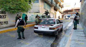 En impresionante operativo detienen a peligroso taxista en Tantoyuca