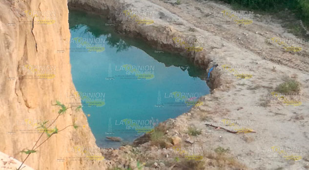 Encuentran a un niño muerto en una poza en Tuxpan