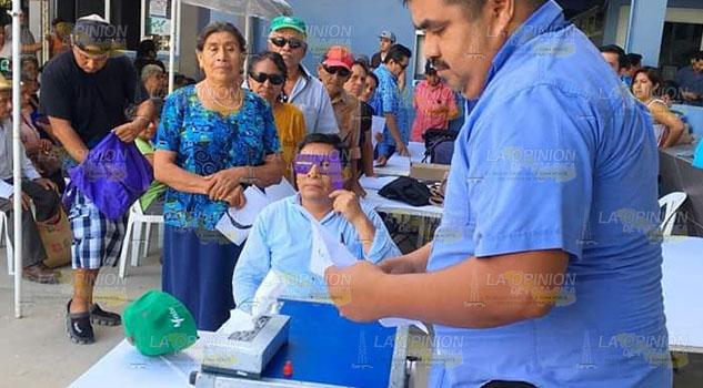 Exitosa campaña de Salud Visual en Álamo