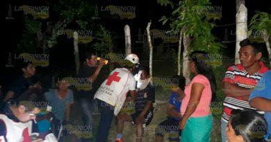 Golpean brutalmente a jovencito en Tecomate Chopopo