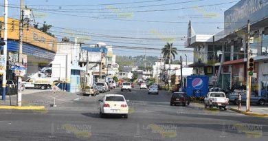 Habrá más acciones de balizamiento desde este jueves en Poza Rica