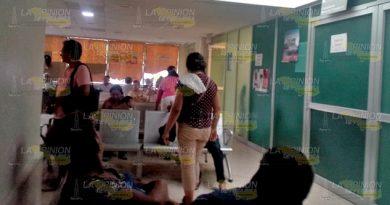 Indolencia institucional; exponen a pacientes en Tuxpan
