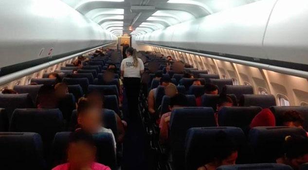 Migración deporta a 106 hondureños desde Minatitlán