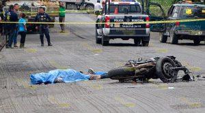 Motociclista derrapa y se mata en el tramo Álamo - Potrero del Llano