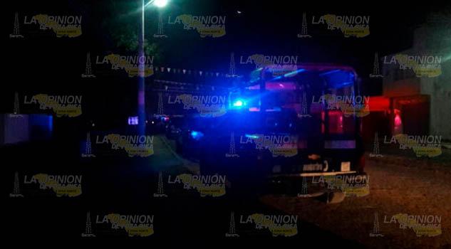 Motociclista sufre accidente en Huejutla
