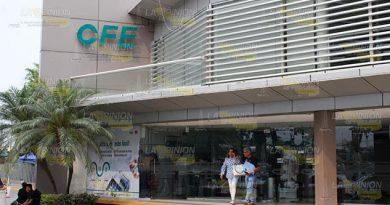 Muy caros los recibos de luz en la zona norte de Veracruz