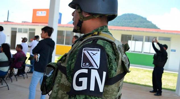 No venimos a resolver delitos, venimos a reforzar la seguridad: Guardia Nacional