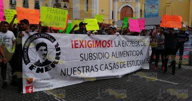 Otra vez cerrado el centro de Xalapa, ahora por la FENERRR