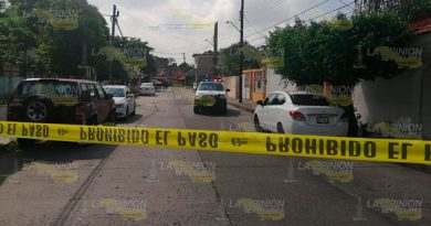 Pánico por detonaciones de arma de fuego en Poza Rica