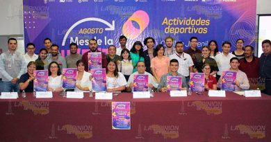 Presenta el programa para el Mes de la Juventud en Poza Rica