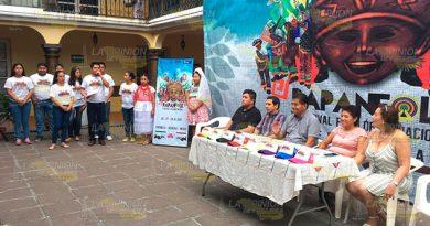 "Presentan en Papantla el festival ""PapanFolk"""