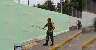 Elementos del ejército realizarán labor social en Cerro Azul