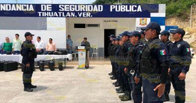 SP ampliará rondines en las comunidades de Tihuatlán
