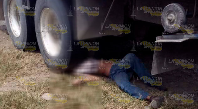 Tráiler atropella y mata a estudiante en comunidad de Tantima