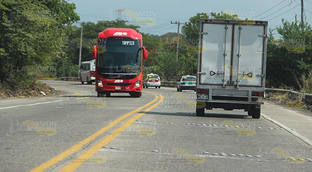 Tramo intertroncal Poza Rica al entronque con la autopista 32D, al límite