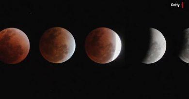 Un eclipse lunar parcial podrá ser visto en gran parte del mundo este martes