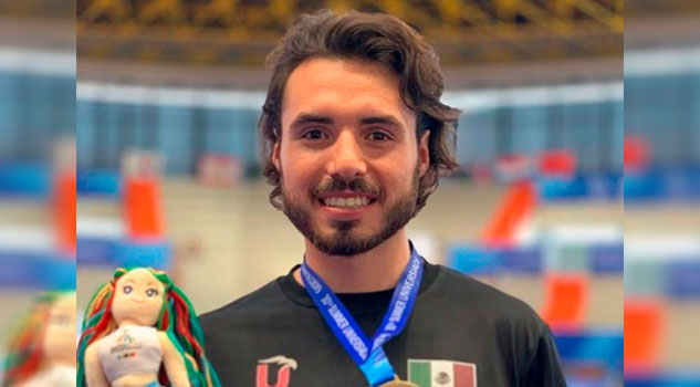 Veracruzano se sube al podio en la Universiada Mundial 2019