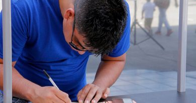 Viajan 200 veracruzanos a trabajar a fábrica de Samsung en Baja California