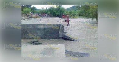 A 6 años del colapso del puente de Poza Verde en Papantla