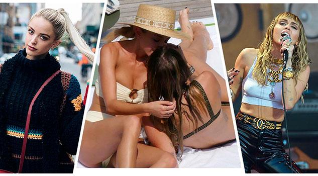 Aseguran que el romance de Miley Cyrus y Kaitlynn Carter es falso