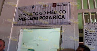 Atención médica gratuita en el centro de Poza Rica