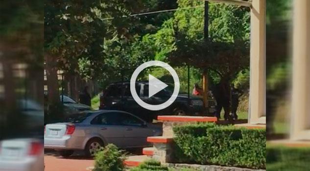 Balacera frente a escuela en Juán Galindo, Puebla, hay una persona detenida