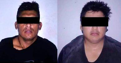 Civiles son detenidos por detonaciones de arma de fuego en Tecolutla