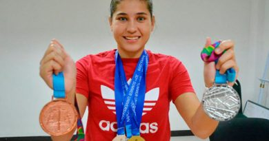 Clavadista veracruzana regresa con de medallas de los JP Lima 2019