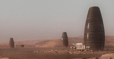 Compañía diseña las primeras casa para habitar Marte