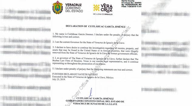 Continuará Cuitláhuac litigio contra Duarte en EUA