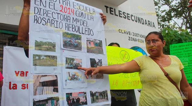 Denuncian abusos en Telesecundaria de Poza Rica