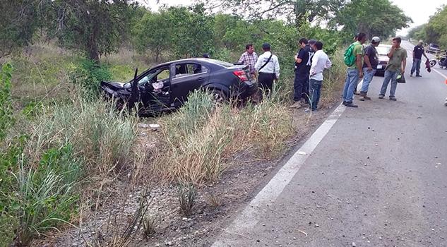 Domingo de accidentes en inmediaciones de Álamo; 3 lesionados