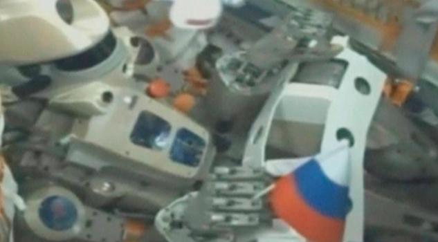 Falla acoplamiento de la nave rusa Soyuz MS-14