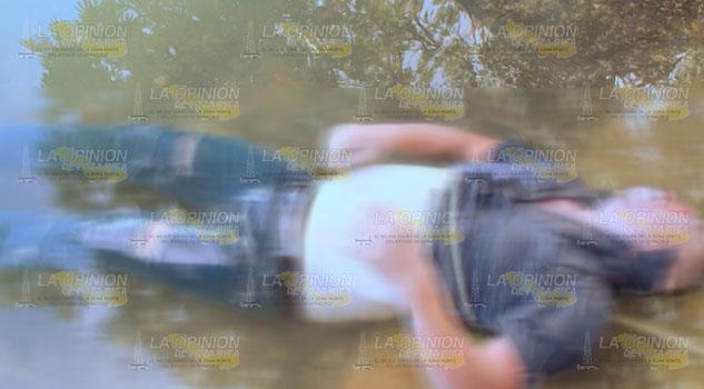 Flota cuerpo de un hombre en el río de Tuxpan