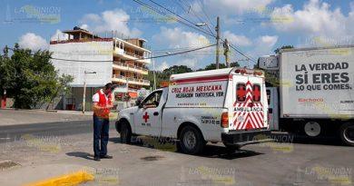 Fuerte choque en la carretera Tantoyuca - Platón Sánchez, una lesionada