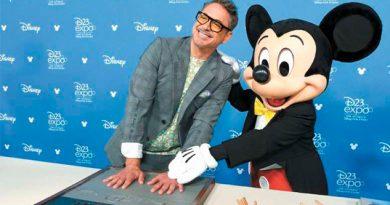 Fumé marihuana en Disney: Downey Jr.