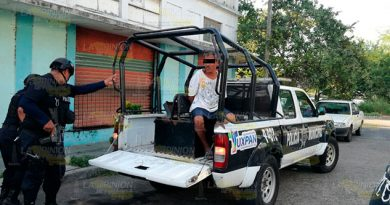 Intenta robar una cabeza de motor en Tuxpan