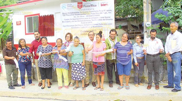 Más obras para habitantes de Poza Rica