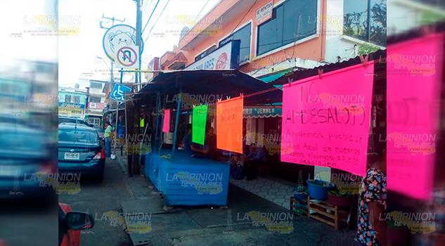 Persiste el problema en la zona centro de Cerro Azul