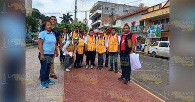 Personal de Jurisdicción Sanitaria realizan barrido en Cazones de Herrera