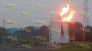 Plataforma de Pemex se incendia, evacuan a pobladores de San Diego