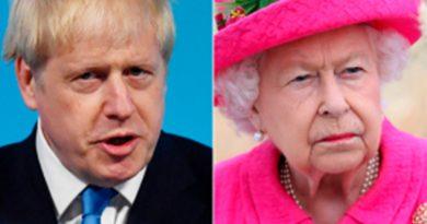 Reina Isabel II aprueba la suspensión de sesiones del Parlamento