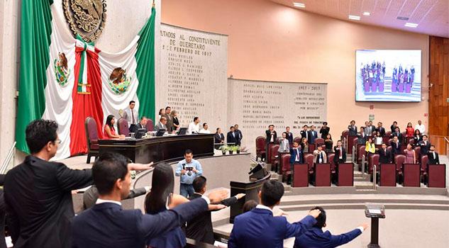Sesiona el Parlamento de la Juventud Veracruzana 2019