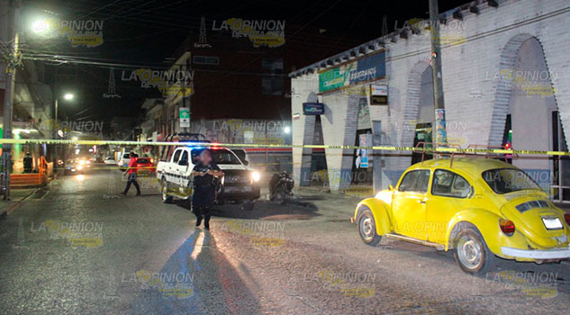 Sin pista del asesino de un motociclista en Poza Rica