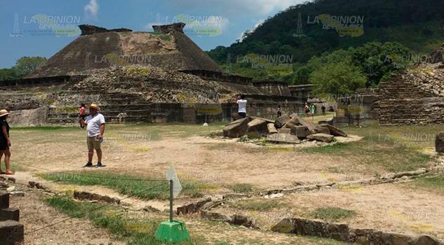 Tajín Chico con daños, deterioro natural afecta la historia