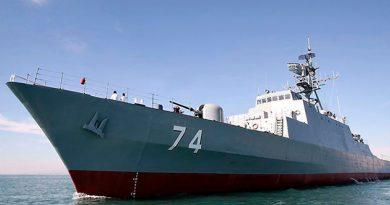 Teherán despliega destructor en el golfo de Adén para proteger barcos de Irán