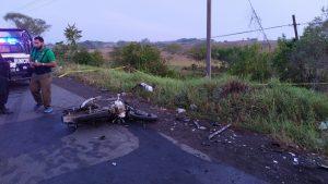 ¡Se mata alumno del CBTA 57 en la carretera Álamo - Alazán! (3)