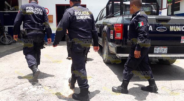 Agrede a su madre y es detenido por la policía en Huejutla