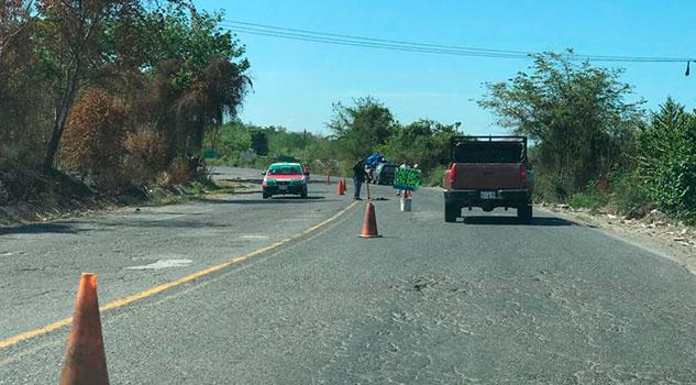 Aumentan deterioro de la carretera federal Tihuatlán - Poza Rica